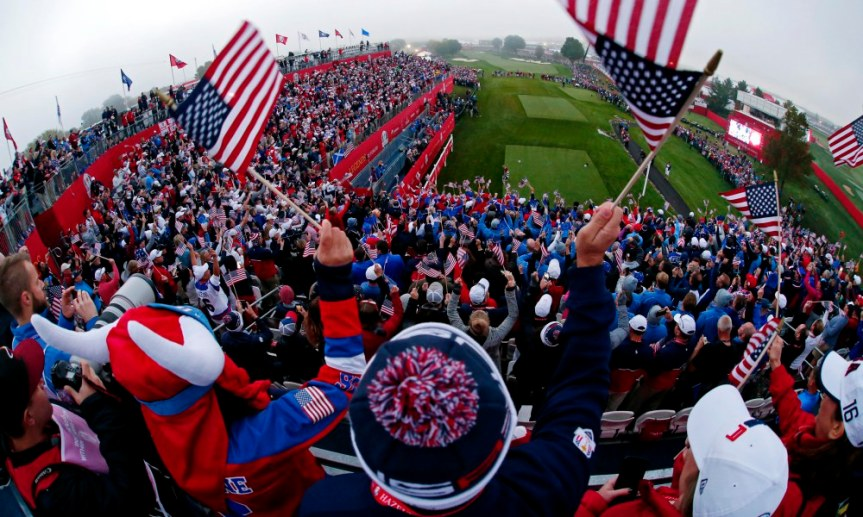 Ryder Cup Winners and Losers